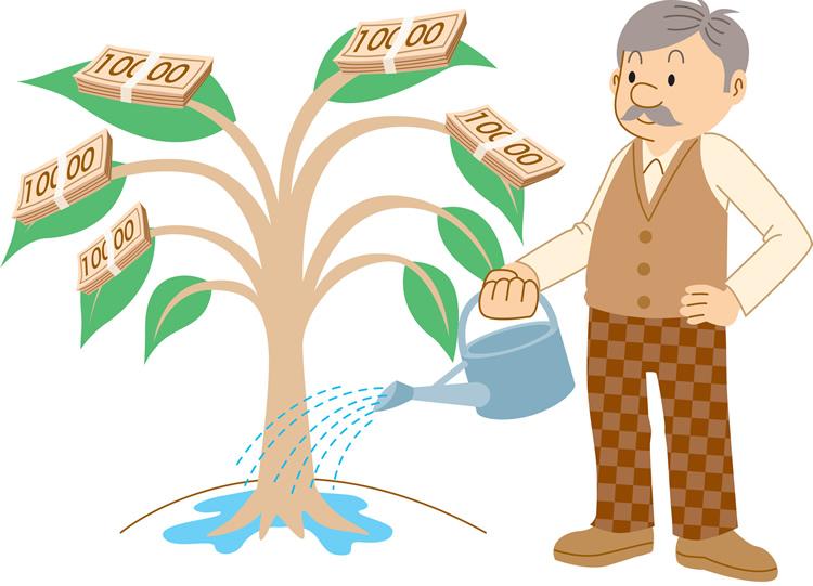 お金の成る木を育てたい